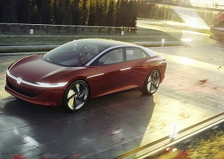 Volkswagen world premiere in Geneva The I.D. VIZZION – the saloon for tomorrow and beyond